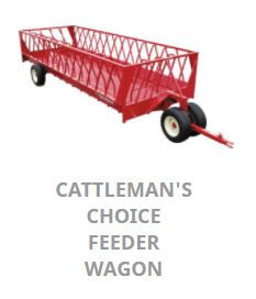 JBM Cattlemans Choice Feeder Wagon