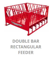 JBM Double Bar Rectangle Feeder